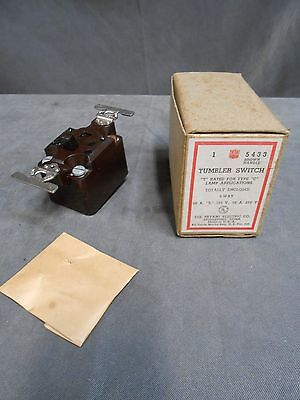 Unused Vintage Bryant 5433 Totally Enclosed Tumbler 3 Way Light Wall Switch 2
