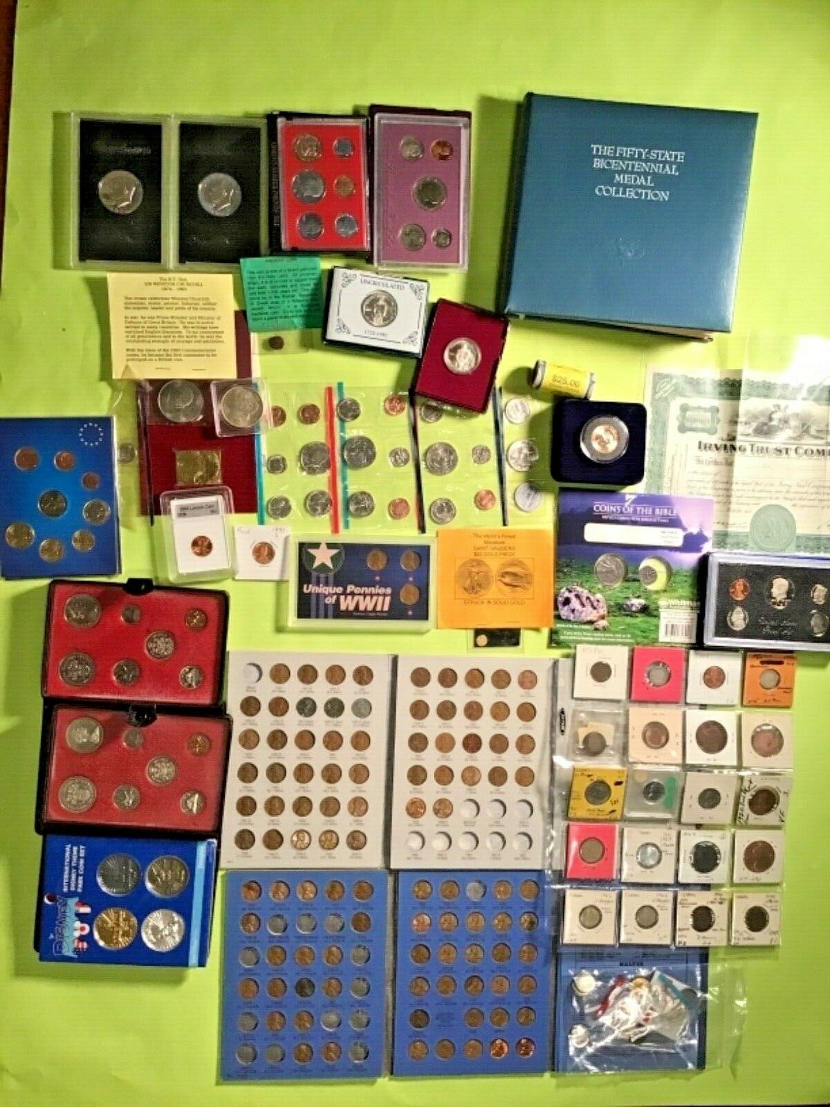 Sterling Silver Coins- Mix. LOT - $1,400.00