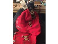 ED HARDY All Over Dragon Facemask NEW WITH TAGS