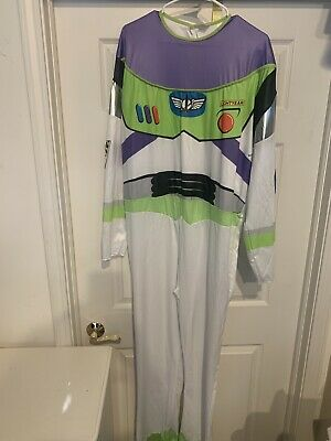 Disney Pixar Toy Story Buzz Lightyear Deluxe Costume Disguise Adult Size 42-46