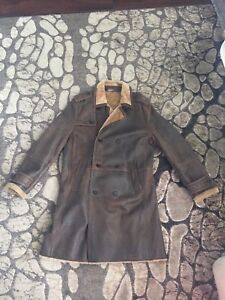 Andrew Marc Shearling Duster/Trenchcoat