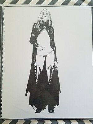 Beautiful Goblin Queen Jeffery Spokes Original Comic Art Commission 14 X 17