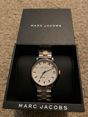 Marc Jacobs MBM3312 Baker 36MM Women's Two-Tone Stainless Steel Watch
