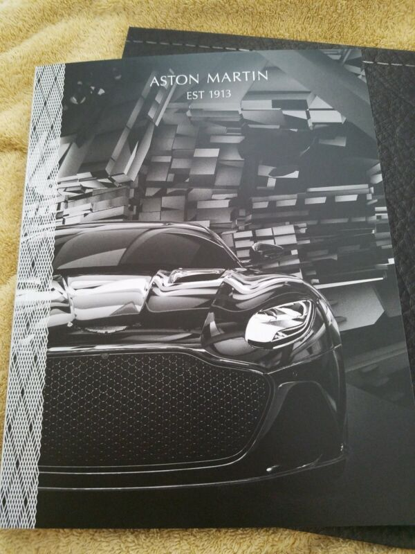 ASTON MARTIN OFFICIAL MAGAZINE ISSUE# 40 SUMMER 2018 Thick Brochure Book