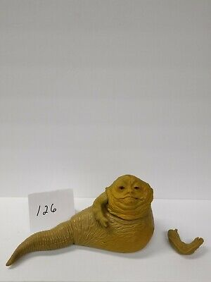 Jabba the Hutt Vintage LFL 1983 Star Wars Action Figure with moving tail/arm