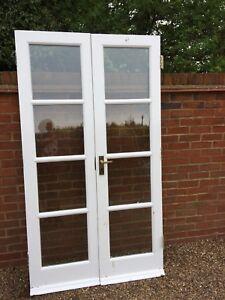 exterior double doors. Exterior External Wooden Double Glazed French Doors H