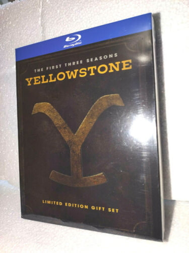 Yellowstone Season 1 2 3 (DVD ,12-Disc Set) Brand New Complete ****BLU RAY******