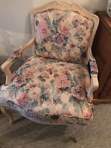 Set of French Provincial accent chairs