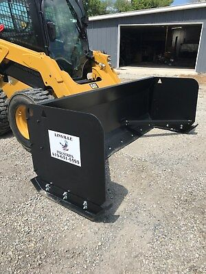 Linville 10 X 36 Skid Steer Snow Pusher Plow Free Shipping