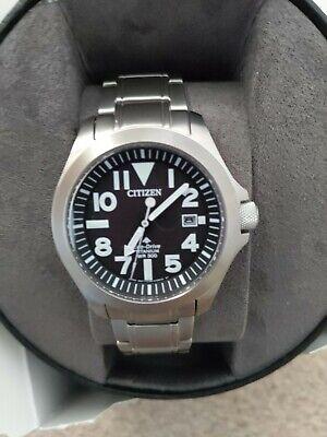 Citizen promaster Titanium watch BN0118-55E