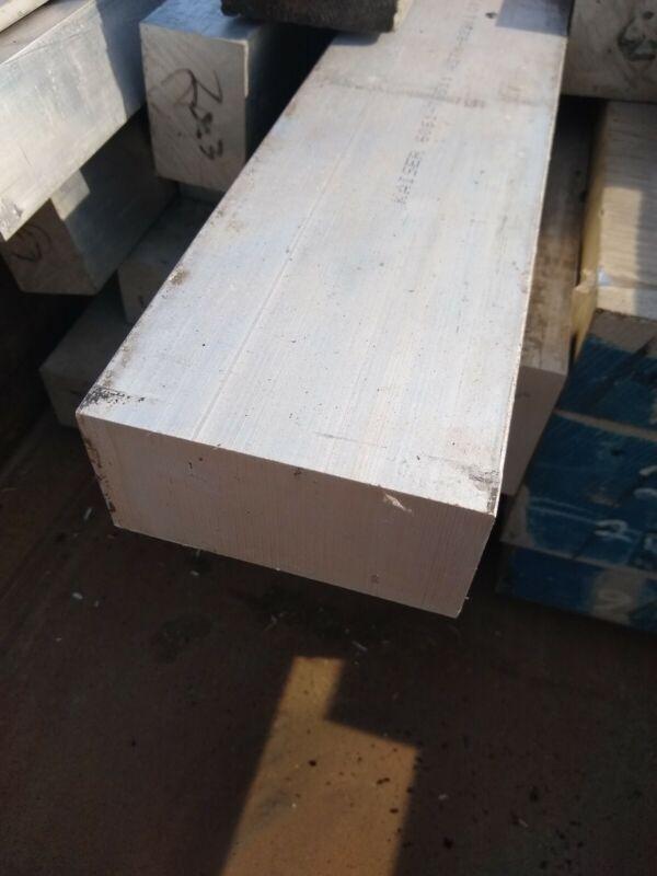 """2"""" x 3"""" 6061 Aluminum Bar Stock Cut to length per 1"""" CNC Stock"""