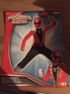 Mint condition Power Ranger Halloween Costume