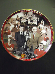 *Danbury Mint * The Busby Babes - MAN UTD * 8