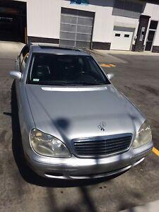 2000 Mercedes s500
