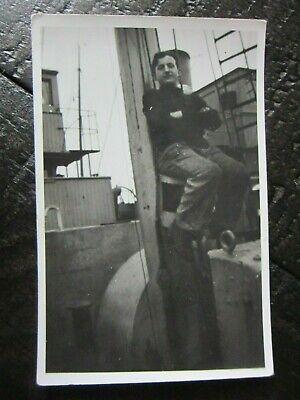 Original WWII German Kriegsmarine & Decorated Army Soldier Photo