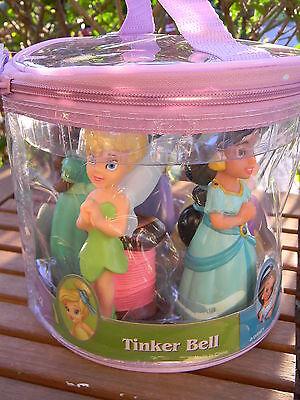 (Disney Parks PRINCESS Bath Pool Play Toy Rapunzel Tinkerbell Jasmine Tiana Mulan)