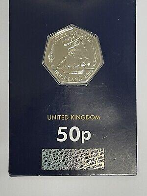 2020 megalosaurus 50p coin
