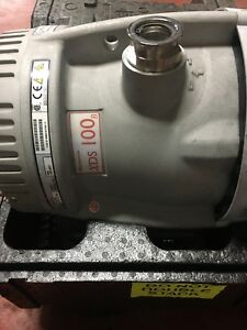 Edwards XDS 100B dry scroll pump