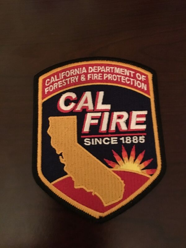 California Department Of Forestry & Fire Protection Patch Shoulder Large