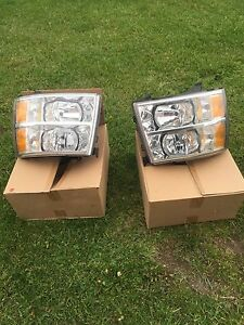 Chev Silverado Headlight and tail light assembly