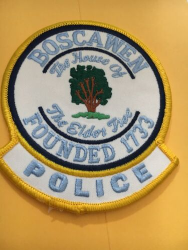Boscawen New Hampshire Vintage Police Patch version 2