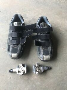 Shimano Clipless Pedals and Cleats, size 41