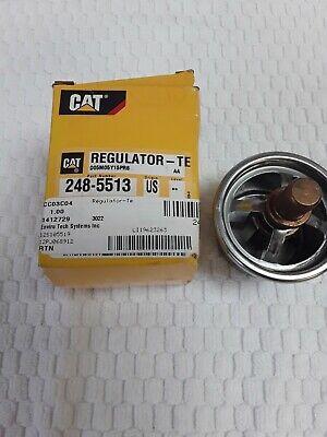 248-5513 2485513 REGULATOR THERMOSTAT CAT Original Carterpillar