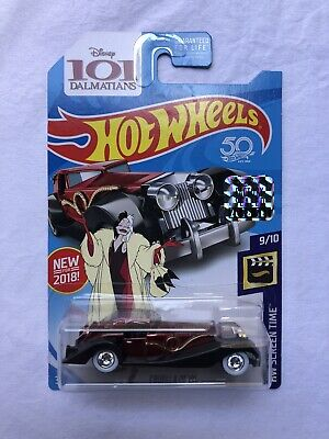 hot wheels 2018 super treasure hunt Factory Sealed  Cruella De Vil
