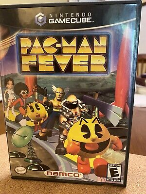 Pac-Man Fever (Nintendo Gamecube). Tested Works. Very Good Condition. COMPLETE.