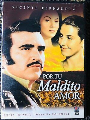 Por Tu Maldito Amor (DVD) Vicente Fernandez (Por Tu Amor Dvd)