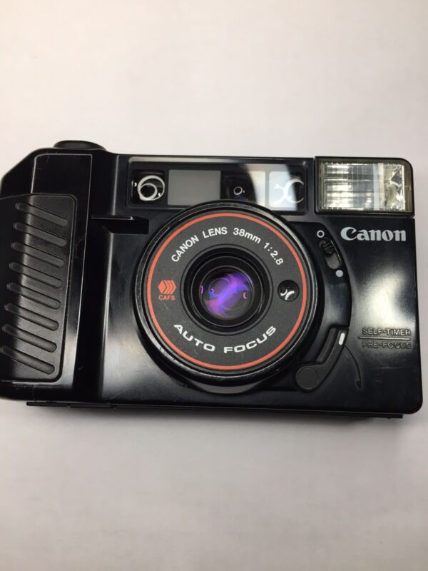 Canon Sure Shot 35mm Point & Shoot Film Camera (Tested)