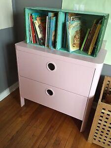 IKEA Busunge Pink Kids Dresser!