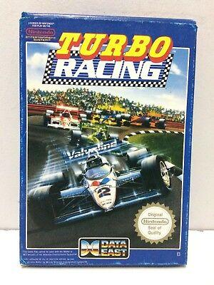 Turbo Racing Nintendo NES Pal