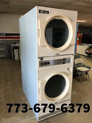 Maytag Commercial Stack Dryer 30 Lb Coin Operated Gas