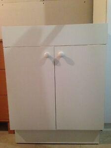 Meuble pour encastrer lavabo