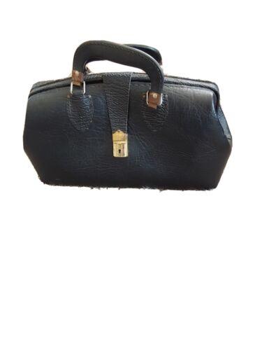 Vintage 1900s Origanal Leather Doctor Bag - $74.95