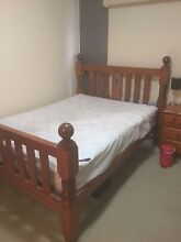 Queen Size Bed with Matress Geelong West Geelong City Preview
