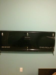 Truck tail gate coat rack/ bulletin boards