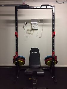 Squat stand and weights Yamanto Ipswich City Preview