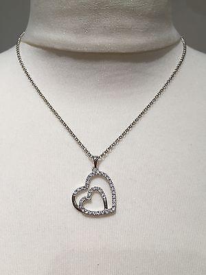 Gebraucht, s.Oliver Jewel Damen-Halskette mit Anhänger 925 Sterlingsilber Zirkonia, 45 cm gebraucht kaufen  Bad Sassendorf