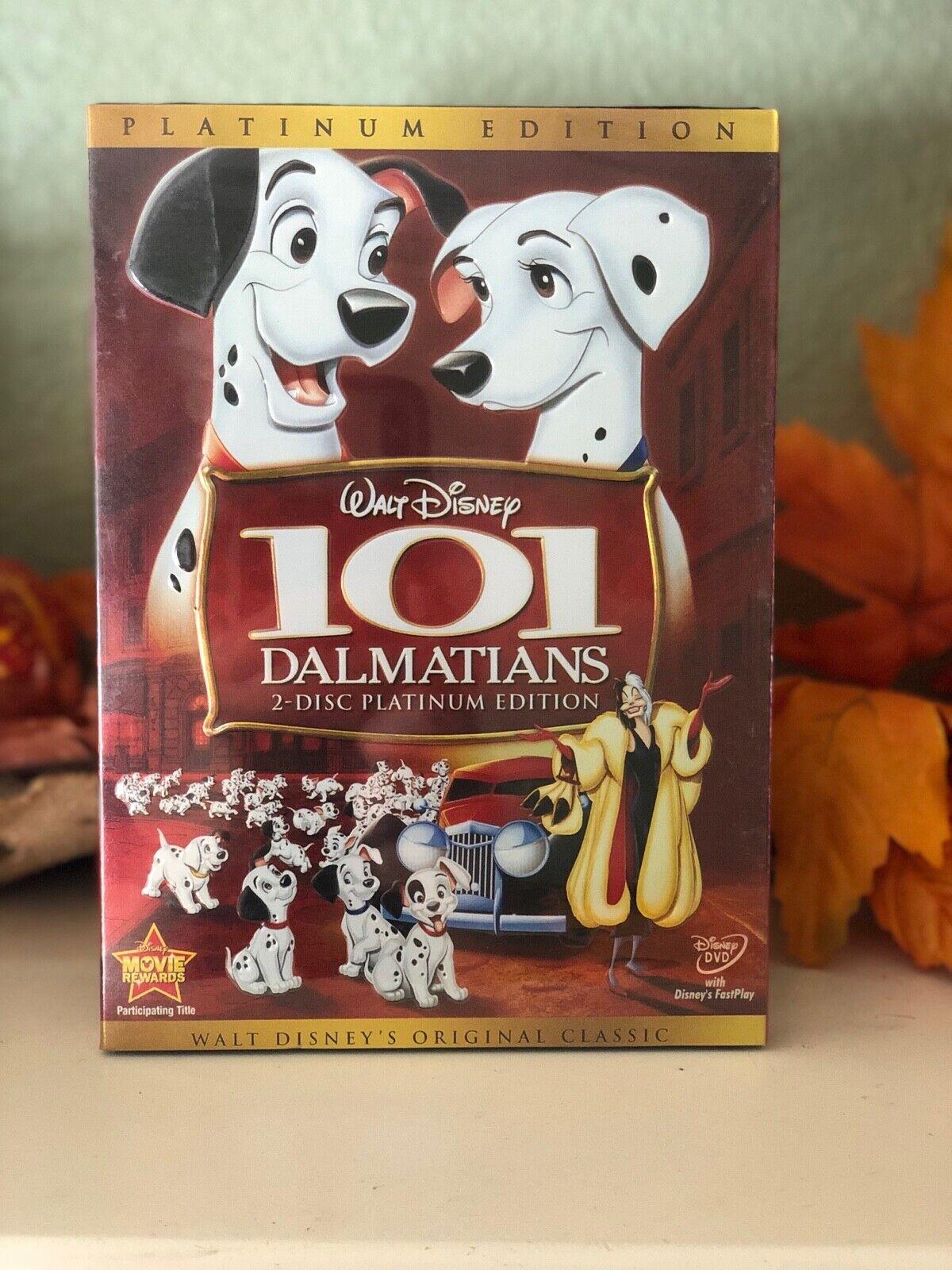 101 Dalmatians (DVD, 2008, 2-Disc Set, Platinum Edition) Walt Disney NEW SEALED