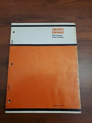 Case 350 Crawler Dozer Parts Book Catalog 1969