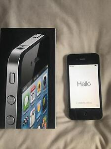 IPHONE 4 $95 IMMACULATE CONDITION.BOX, CHARGER,ETC.8GB Marion Marion Area Preview