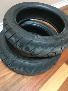 HONDA GROM TIRES FRONT AND REAR (PAIR)