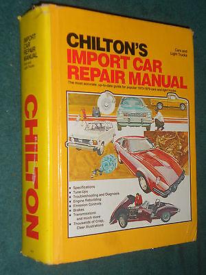 1973 1979 Datsun 280Z   Mercedes   Vw   Fiat   Import Car   Truck Shop Manual