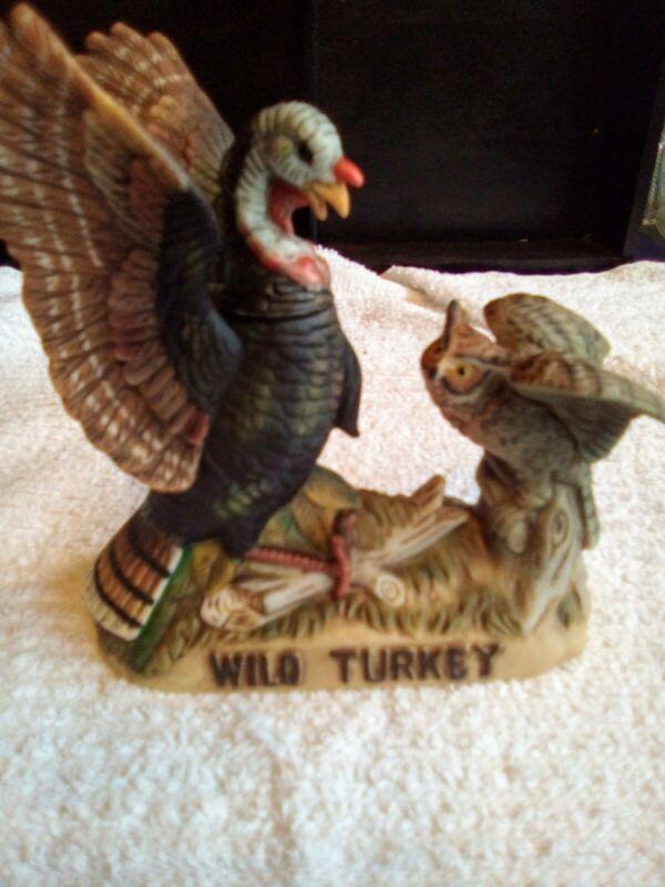 Austin nichols wild turkey decanter mini. Turkey And Owl.