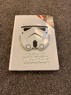 Star Wars A5 3D Stormtrooper Notebook (NEW