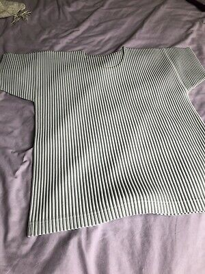 issey miyake homme plisse Pleated T-shirt Size 2