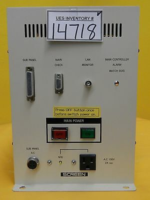 Dns Dainippon Screen Cemb-0015 Main Power Distribution Module Sc-w60a-av Used