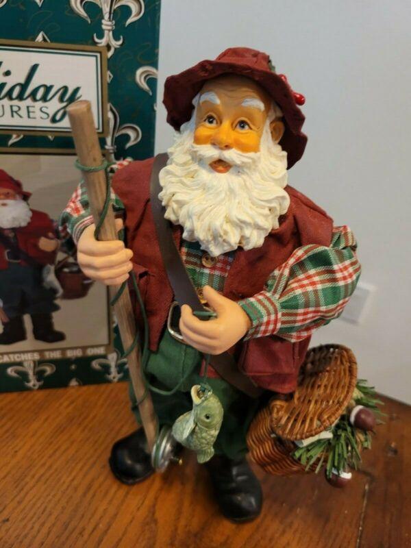 Holiday treasure Santa